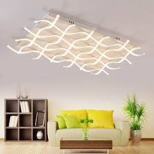 unique lighting fixtures cheap. rectangle acrylic modern led ceiling light for living room bedroom unique square home lamp overhead lighting fixture fixtures cheap aliexpresscom