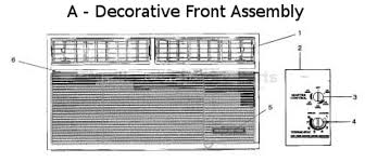 parts for a2q10f2bg as fedders air conditioners image