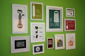 kitchen wall art decor frame