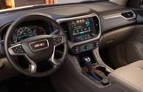 ford explorer vs gmc acadia compare cars 2017 gmc acadia