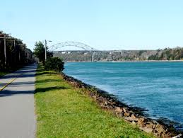 Visiting The Free Cape Cod Canal Bike Trail In November  The Weather Cape Cod November
