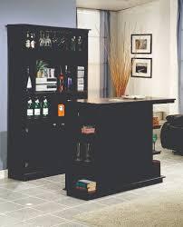 2 Pc Mocha Finish Bar Set by ADM Furniture