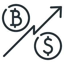 Bitcoin Chart Cryptocurrency Dollar Rate Ratio Ratio