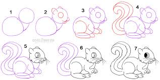 Small Picture Squirrel Drawing Cartoon Image Gallery HCPR