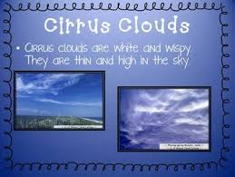 Types Of Clouds Ppt Clouds Powerpoint Introduction To Three Cloud Types