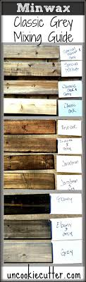 Rustic Furniture Stain Best 25 Stain Colors Ideas On Pinterest Grey Stain Wood Walls