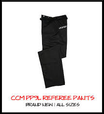 Ccm Referee Pants Size Chart Ccm Pro 150s Official Hockey Referee Jersey Brand New Ref