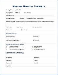 Meeting Agenda Minutes Template Formal Meeting Minutes Template Classroom Decor Pinterest