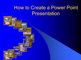 how to create a power point presentation topics that will be  1 how to create a power point presentation
