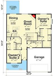 Master Bedroom Floor Plans  Home Planning Ideas 2017Dual Master Suite Home Plans