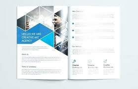 Membership Booklet Template Full Page Brochure Template Event And Artistic Fold Brochure