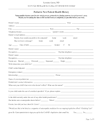 new patient forms medical office templates best photos of medical office patient forms new patient forms
