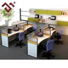 cubicles for office. t shaped wood office cubicle for 4 person cubicles