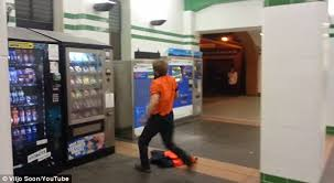 Man Vs Vending Machine Mesmerizing Sydney Man Kicks A Vending Machine When It Doesn't Give Him His