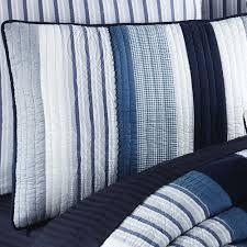 blue quilt bedding. Fine Quilt Nantucket Dream Quilted Sham Blue Standard In Quilt Bedding