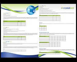 brochure design for a pany by sy