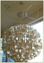 capiz shell chandelier large shell chandelier home design ideas large shell chandelier