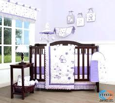 purple crib per lavender erfly baby bedding set including lamp shade solid girls themes light mini