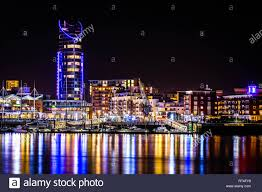 Gosport Christmas Lights 2016 Portsmouth By Night From Gosport Stock Photo 238586861 Alamy