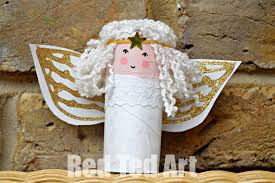 Cute Christmas Craft For Kids Toilet Paper Roll Santas  Play Toilet Paper Roll Crafts For Christmas