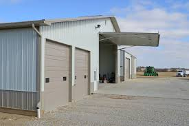 which type of door is best for your pole barn wick buildings with sliding and hydraulic