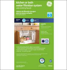 Ge Smartwater Refrigerator Filter Replacement Cartridge Gxulq Full Flow Water Filtration System Ge Parts
