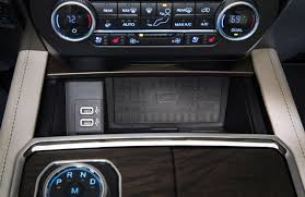 2018 bmw wireless charging. wonderful charging 2018 ford expedition storage bin with wireless charging pad and bmw a