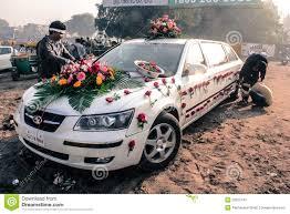 Wedding Car Decorate India Wedding Car Decoration Stock Photo Image 77360044
