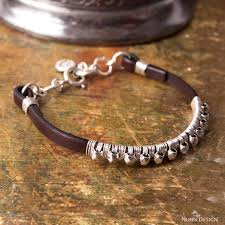how to make a leather wire wrapped bracelet
