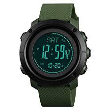 SKMEI Mens Compass Watch, Digital Sports Watch ... - Amazon.com