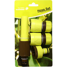 garden hose fittings. Green Gardener Garden Hose Fitting Plastic Image Fittings