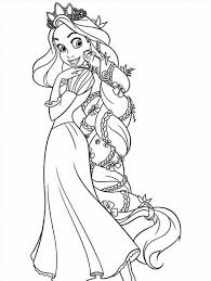 Rapunzel Coloring Pages To Print | asoboo.info