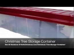 Christmas Tree Storage Box Rubbermaid Magnificent Plastic Artificial Christmas Tree Storage Container Box And Bin