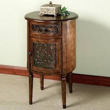black round side table round black side table end tables small accent table with drawer circle
