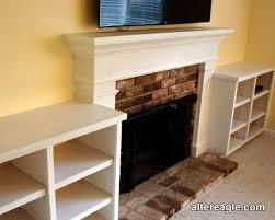 sebastopol interior designer mantel existing fireplace