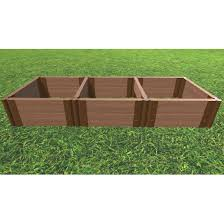 tool free 2 x 6 raised garden bed