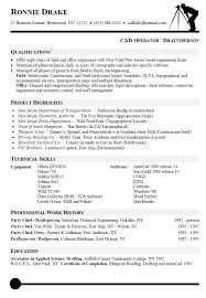 resume sample for cad operator resumes pinterest letter sample resume and cover letters drafting resume
