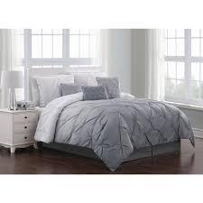 bergen ombre 6 piece gray twin comforter set brg7cstwinghgy the home depot