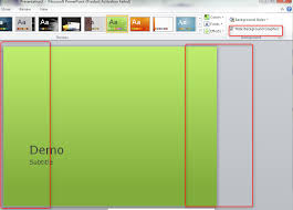 Microsoft Powerpoint Themes Replacing Background Graphics Of A Powerpoint Theme Super User
