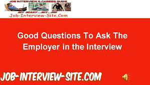 good questions to ask during a job interview best questions to ask employers during an interview youtube