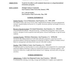 Free Assistant Principal Resume Templates Esl Teacher Resume Sample No Experience Assistant English Doc 77
