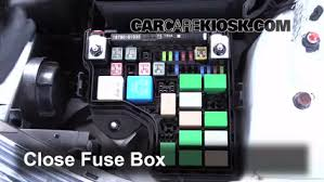 blown fuse check hyundai veloster hyundai 6 replace cover secure the cover and test component