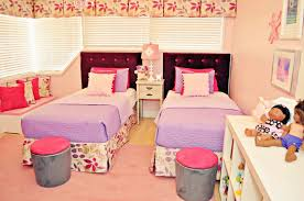 Mean Girls Bedroom Live Laugh Decorate Pink Meets Purple In Our Kids Room Reveal