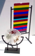 Art Glass Display Stands Metal Project Display Stands Sundance Art Glass 7