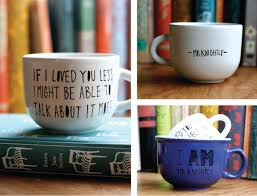 sarah fritzler diy literary quote mugs diy literary quote mugs