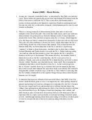 anth anthropology at the movies texas tech page  2 pages avatar movie review docx