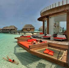 Contemporary Bali Overwater Bungalow