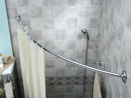 curved curtain rods for corners shower curtain rods perfect looks clean and modern aka in inspiring curved curtain rod for corner curved corner mounted