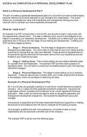 doc personal development plan template  doc951715 personal development plan template excel 6 personal development plan template