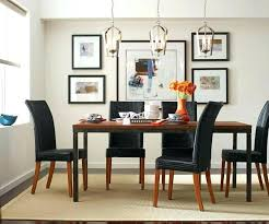 swag chandelier over dining table kitchen lighting